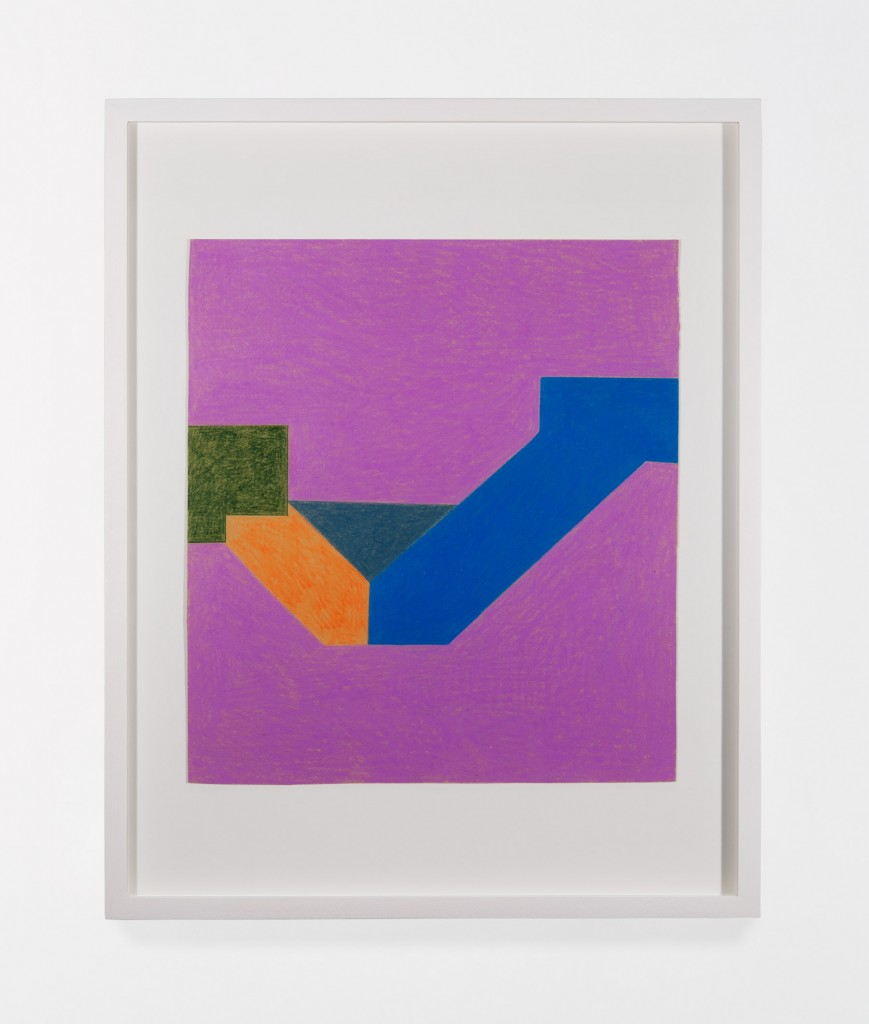 Sadie Benning, Untitled, 2013, Colored pencil on paper, Overall: 10 1/4 x 9 1/4 in.