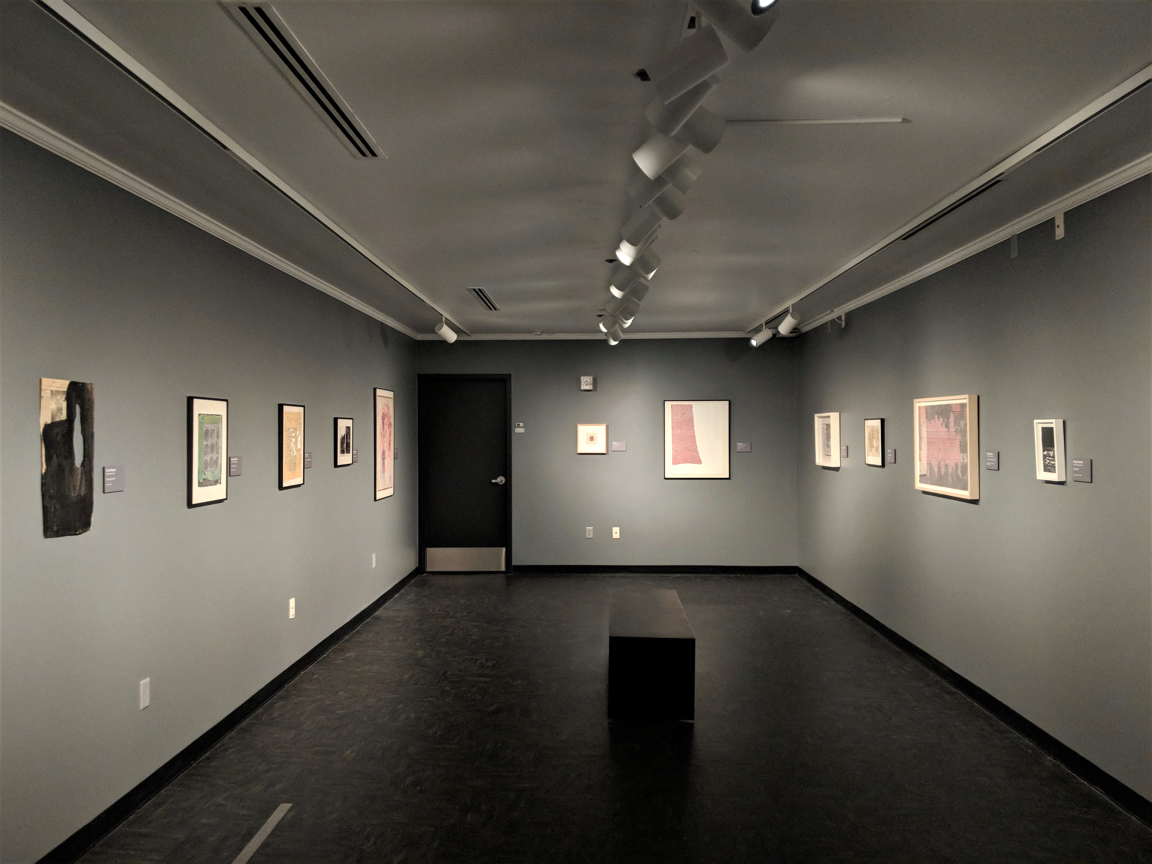 Installation Photos from Spatial Flux: Contemporary Drawings from the Joann Gonzalez Hickey Collection at the Gregory Allicar Museum of Art at Colorado State University